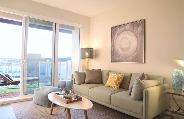 Professionally designed and spacious 1 BD condo