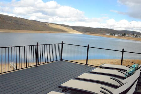 Lake Front House! Wow! One of a kind in Utah!
