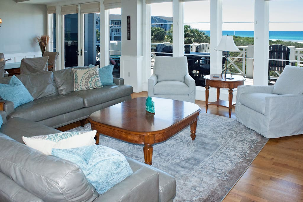 Great room with Gulf View