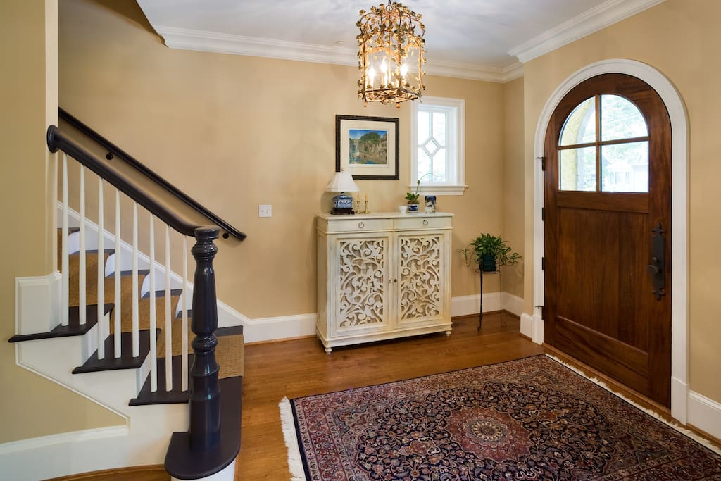 elegant entry foyer
