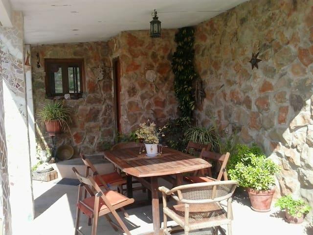 Casa rural en el campo en Castellón - Borriol - Hytte (i sveitsisk stil)