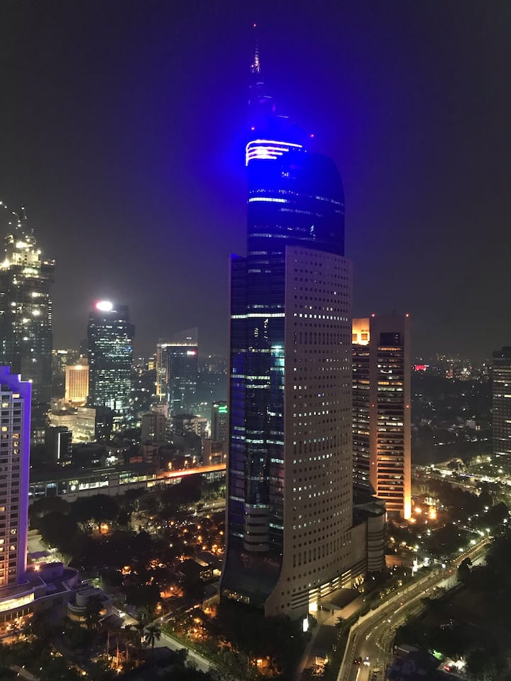Sudirman Park Apartment 3 Bedrooms with a View