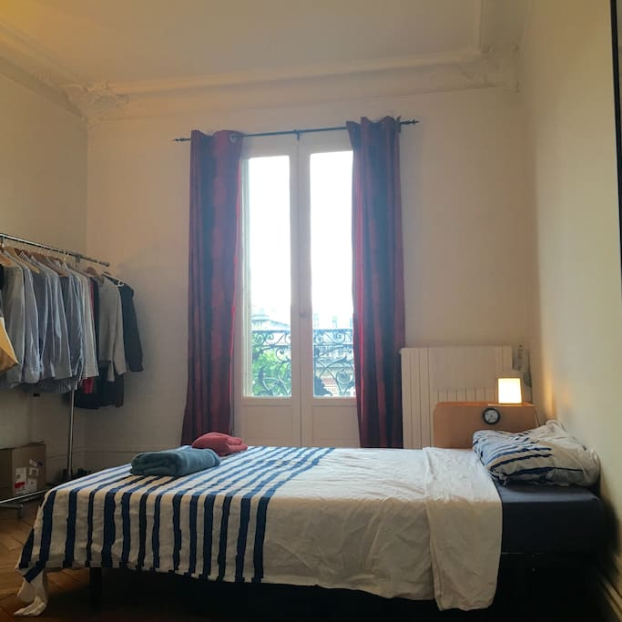 Double room (view from the entrance)
