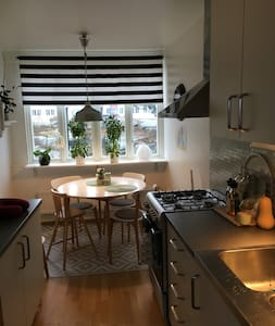 Clean and stylish apt with easy access to the city - Göteborg - Appartement