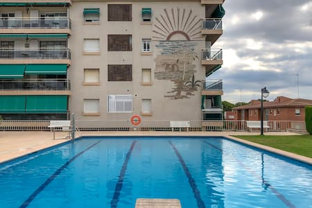 FAMILY APARTMENT PRIVATE GARDEN + SWIMMING-POOL