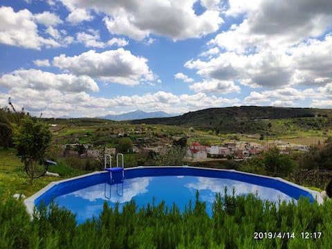 Greece, Crete,Green Farm - Little Paradise