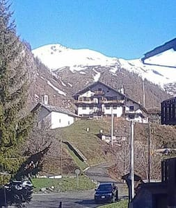 Vista stupenda su Gressoney - gressoney la Trinite