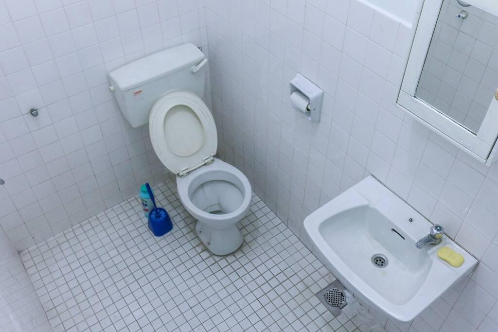 Washroom and Shower.