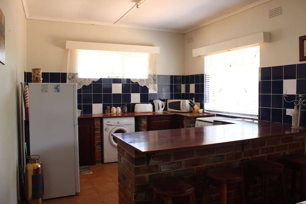Fully equipped kitchen with all crockery and cutlery supplied
