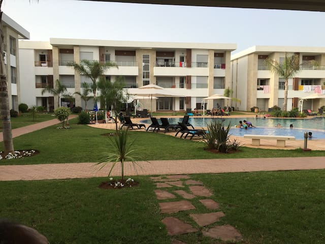 Appartement à Bahia Golf Beach - Bouznika