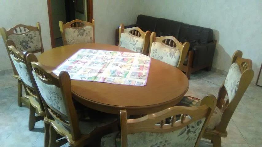 Nappali, ebédlő