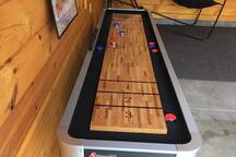 New addition to game room - Shuffleboard!