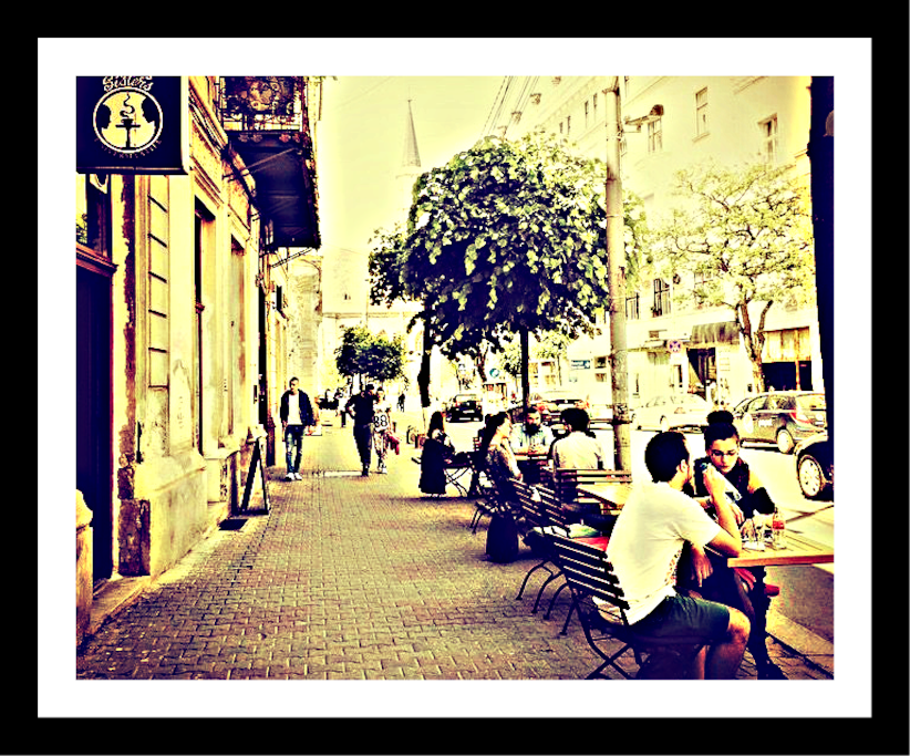 There are plenty of cool coffee shops and bistros on our street, where you can have delicious breakfast or brunch :)