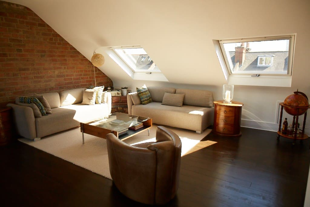 Loft style lounge