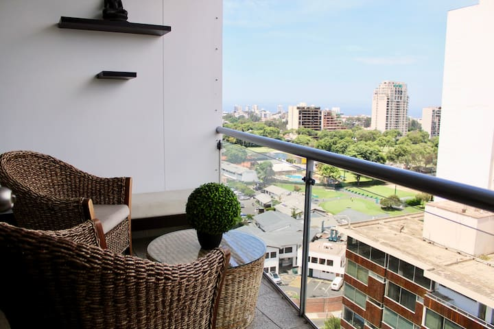 Apartment with view to the Golf of San Isidro - San Isidro - Lägenhet