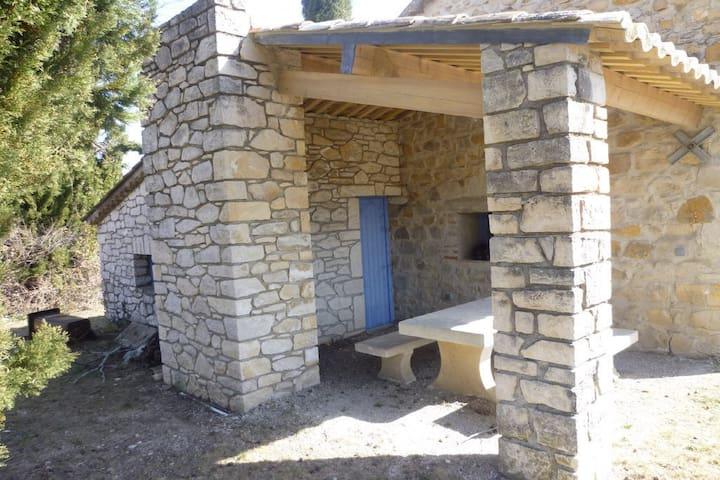 charmant mazet en pierre entièrement rénové - Brouzet-lès-Alès - Dům