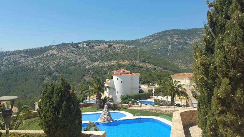 Apartment with fantastic sea and mountain views - Alcossebre - Appartement