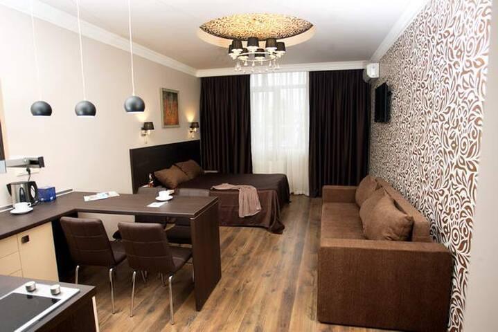 Уютные дизайнерские апартаменты в центре столицы