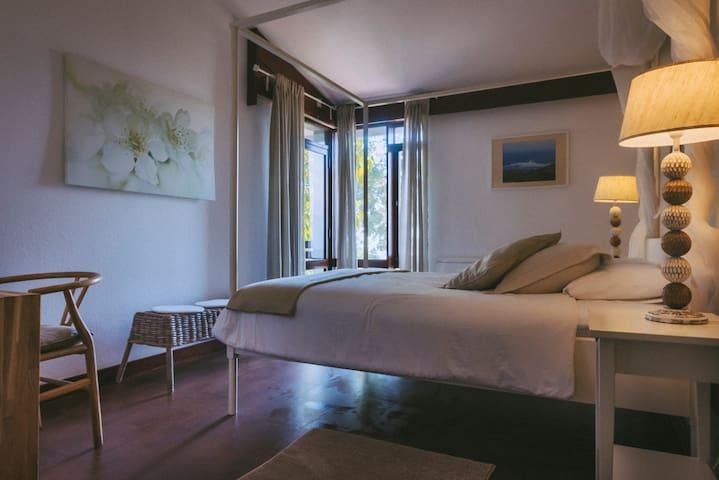 Zimmer 2 mit Doppelbett