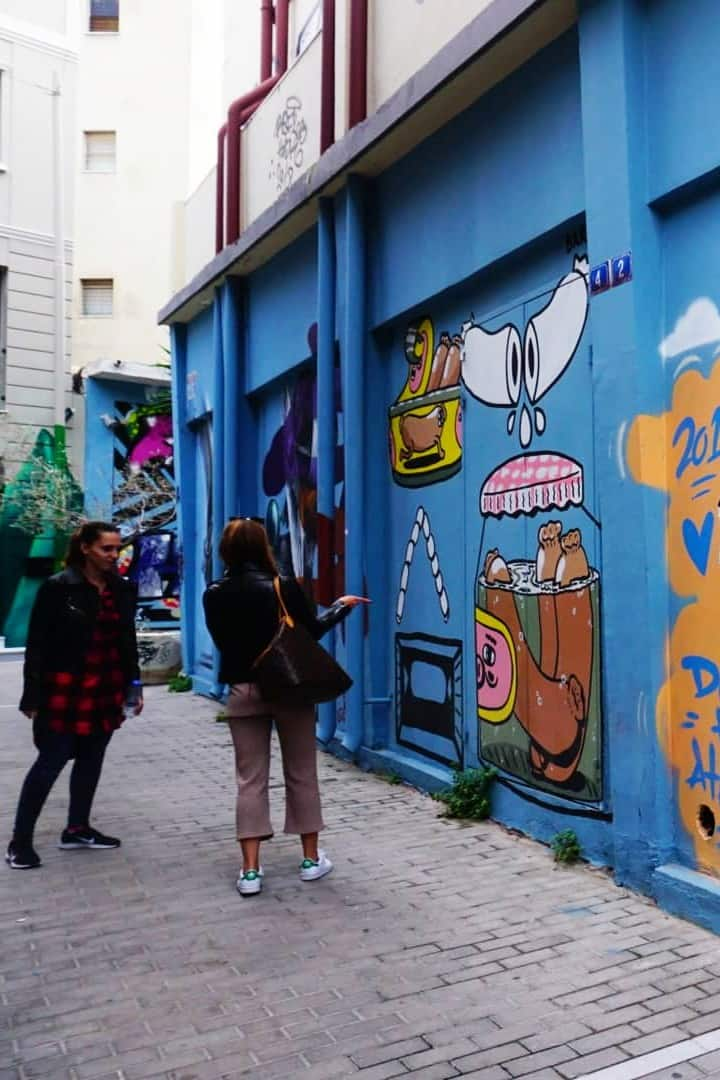 The most colorful street in athens!