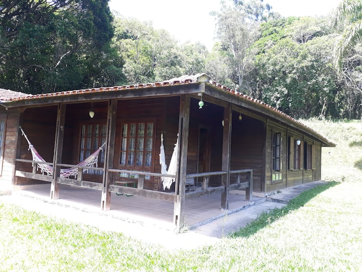 Sítio ideal para Quarentena, c/ piscina, cachoeira