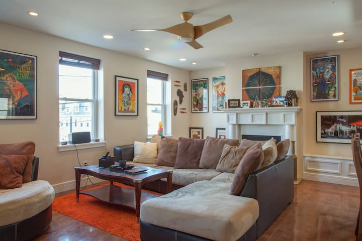 Huge house, perfect for groups! - Pittsburgh - Townhouse