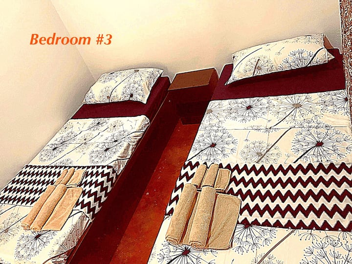 BR#3 (Twin Room) with AC + Toilet&Bath