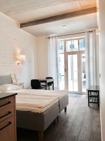 Old Town All-You-Need Studio with Terrace