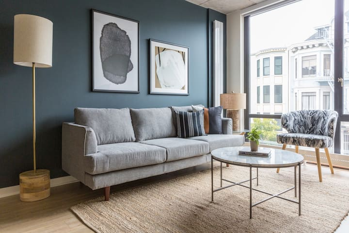 Sonder | Duboce Apartments | Serene 1BR + Rooftop