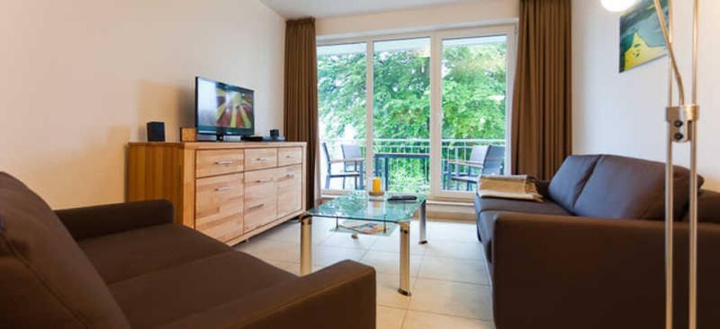 Haus am Südstrand | Komfort-Fewos strandnah, Appartement Hühnergott