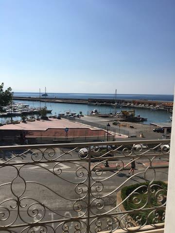 APPARTAMENTO VISTA MARE SUL PORTO DI MARINA - Marina di Camerota - Appartement