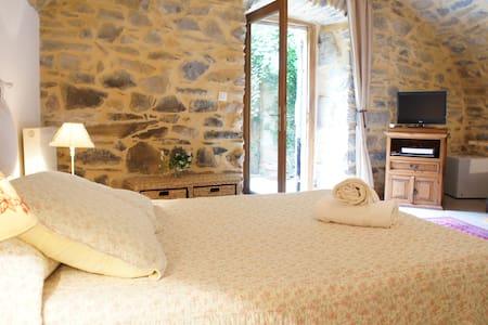Charming Ardèche 18th Century B&B Koru Room - Vesseaux