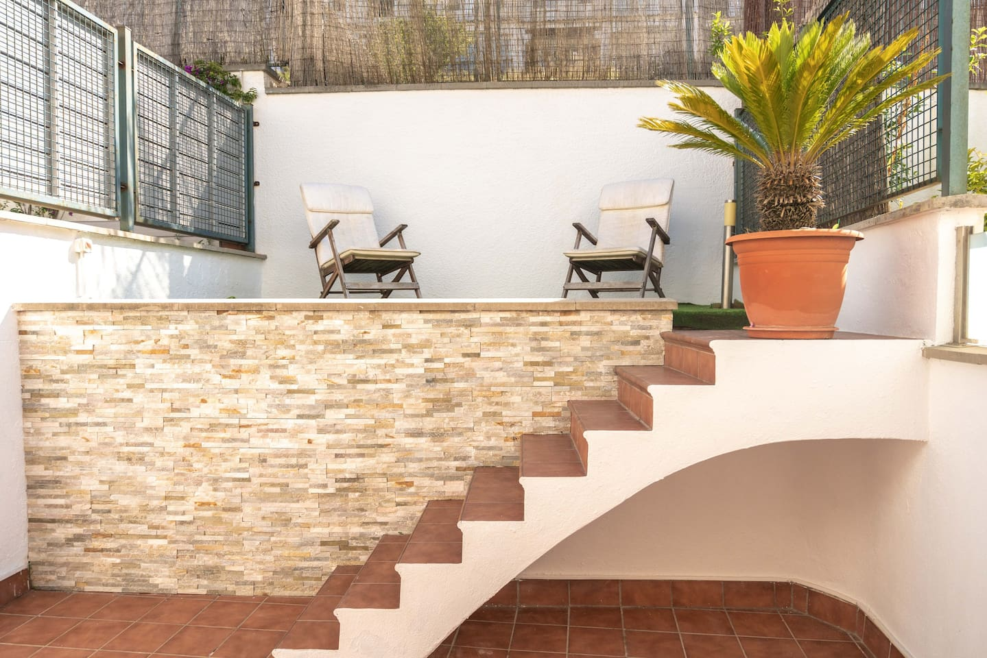 Terraza principal · Main terrace · Terrasse principale