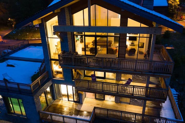Courchevel : New exclusive ski-in / ski-out Chalet