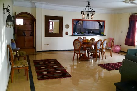 Penthouse with Moroccan fountain  in Maadi, Cairo - Maadi Digla - Wohnung
