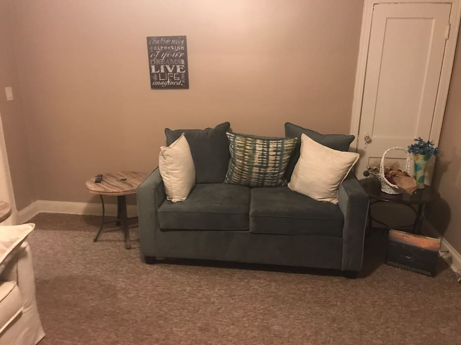 Lots of space to relax and unwind after a long day of work or exploring DC.