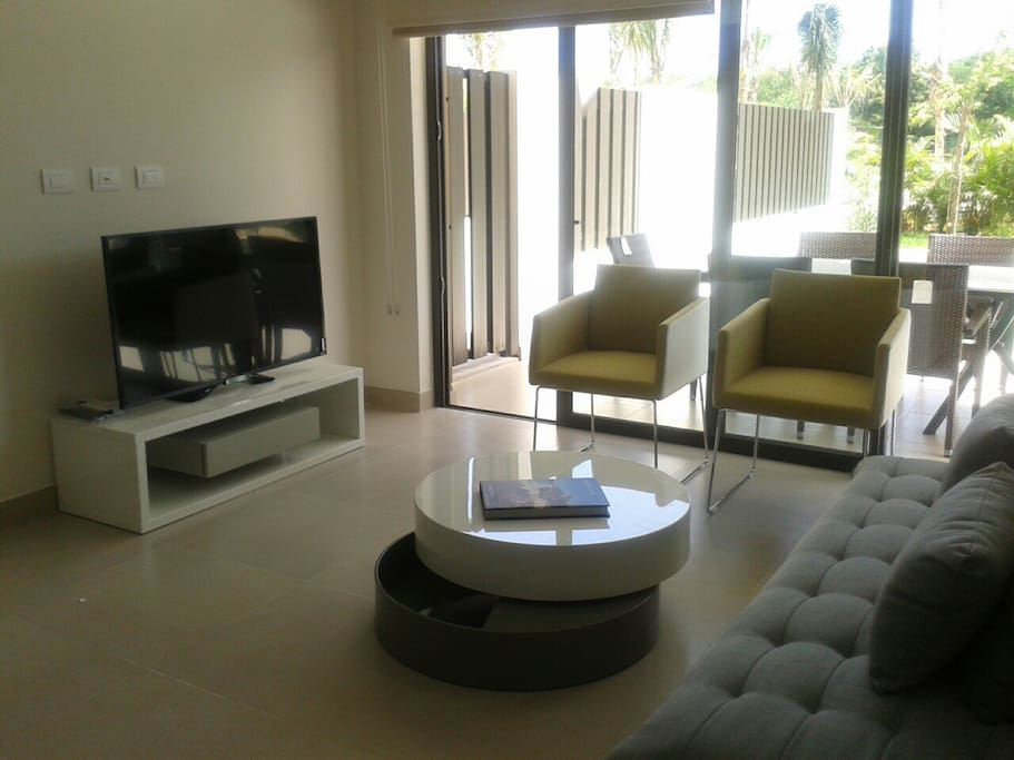 Sala con TV, Sky e Internet WiFi