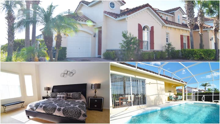 Fantastic 3 bed/2 bath home, large private pool