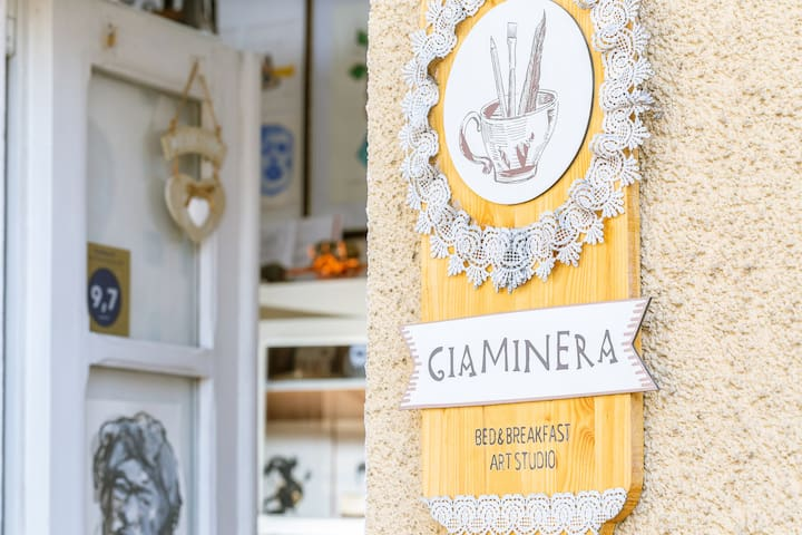 "B&B Art Studio Giaminera : ""Hunter's room"""