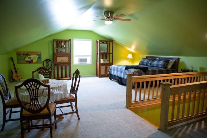 Upstairs Bedroom Suite