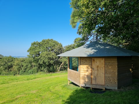 Secluded Cabin on a Farm near Woods and Footpaths