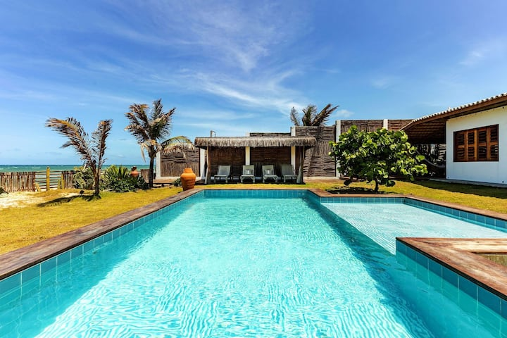 Cea016 - Beautiful 6 bedroom beach house in Guajiru
