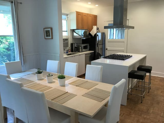 Gourmet Kitchen and Dining
