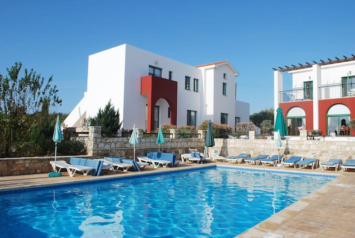 Lovely Apartments in nature. Large pool, 2 bedroom