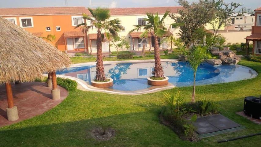 Linda Casa en Morelos