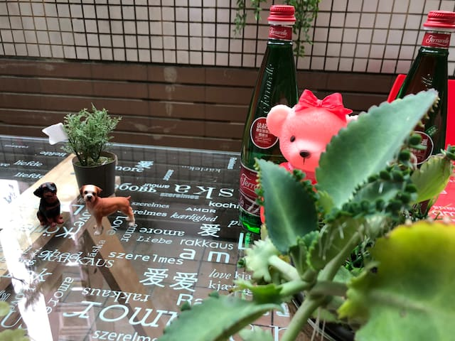 我們喜歡分享愛連花園的餐桌都提醒和家人朋友分享愛的幸福。