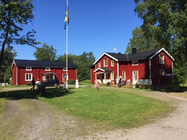 Västerbottensgård nära centrala Umeå