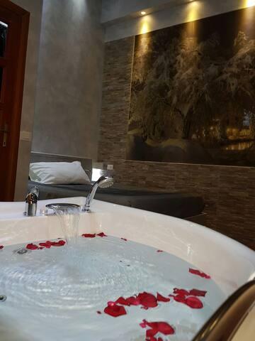 Camera con vasca idromassaggio - Roma - Bed & Breakfast