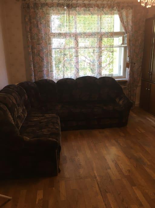 Спальня 2 Раскладной диван на двоих