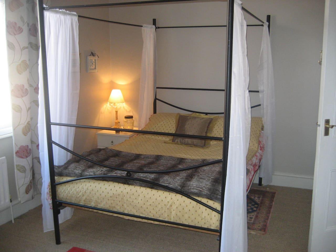 Light spacious bedroom